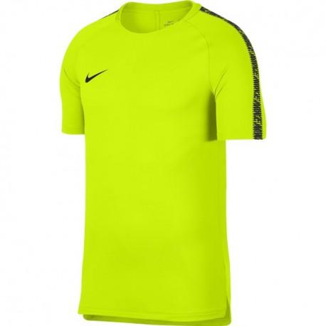 Nike Pantalone M Nk Dry Kp Nero/Giallo
