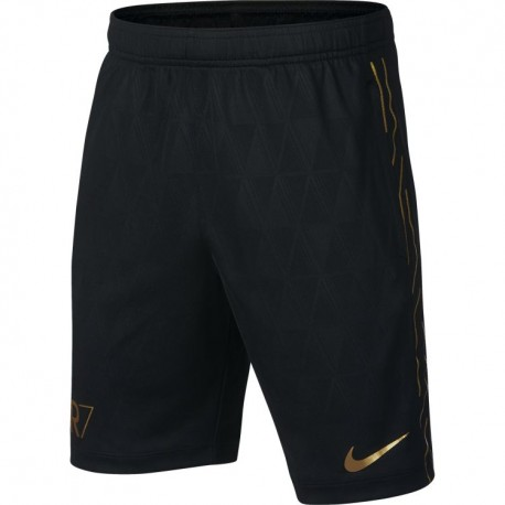 Nike Short Cr7 Dry Acedemy Black/Gold
