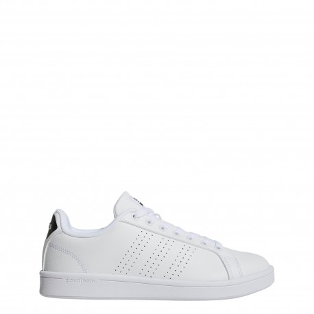 Adidas Donna Advantage Cl Bianco/Nero