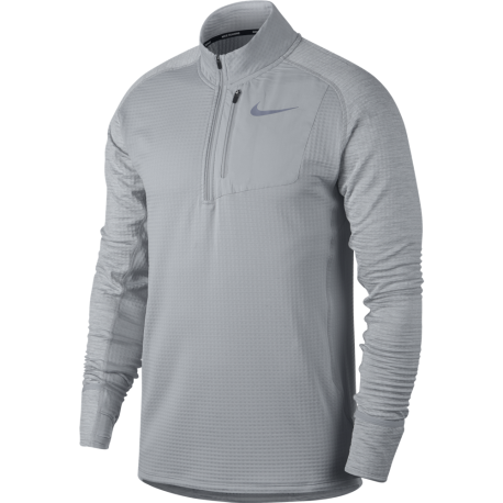 Nike T-shirt Ml Run Therma Sphere Element Hz Wolf Grey