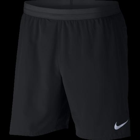"Nike Shorts 7"" Running Flex Distance Black"