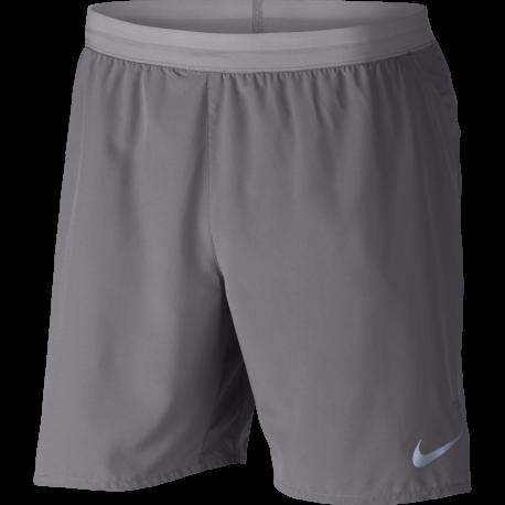 "Nike Shorts 7"" Running Flex Distance Gunsmoke"