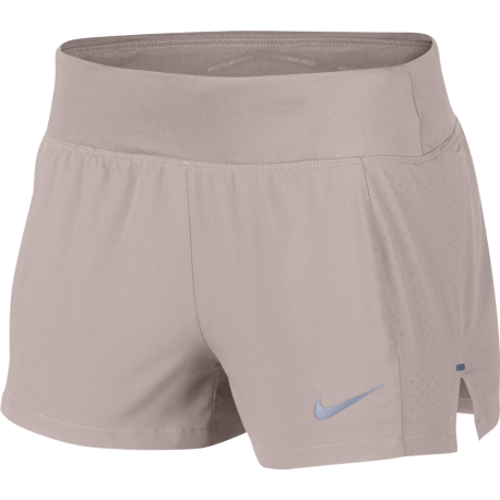 """Nike Shorts Running Eclipse 3"""" Donna Particle Rose"""