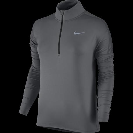Nike T-shirt Ml Rn Dry Element Hz Donna Dark Grey