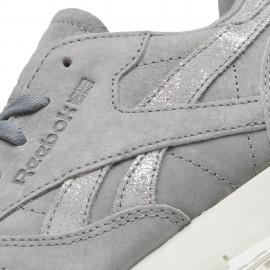 Reebok Donna Classic Lea Shimmer Grigio/Silver