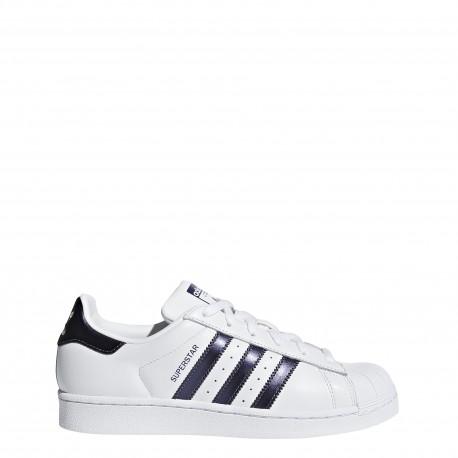 Adidas Donna Superstar Bianco/Viola