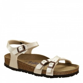 Birkenstock Sandalo Donna Kumba Bianco