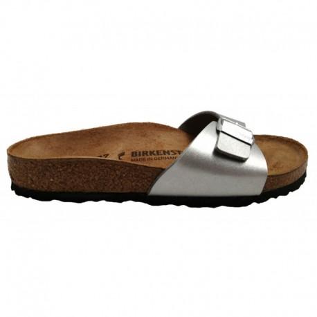 Birkenstock Sandalo Donna Madrid Argento