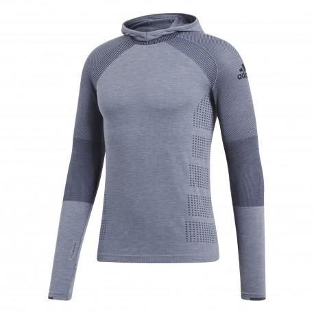 Adidas Shirt Ml Run Climaheat Hood Rawste