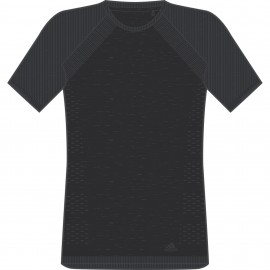 Adidas T-Shirt Mm Run ultra Light Black/Carbon CF6022
