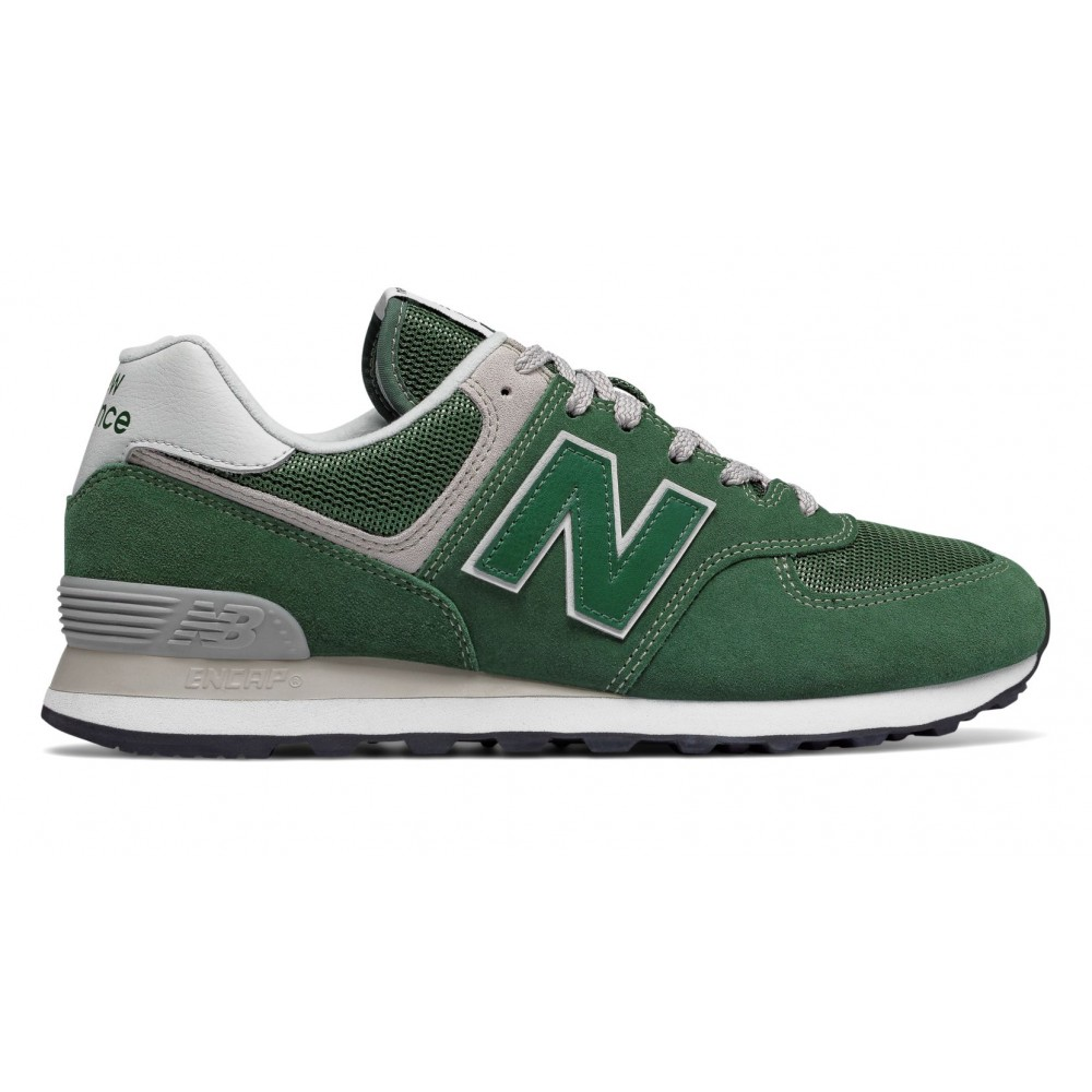 New Balance 574 Mesh/Suede Verde/Verde Precio Barato Clásica Entrega Rápida Barato CeohNCzlen