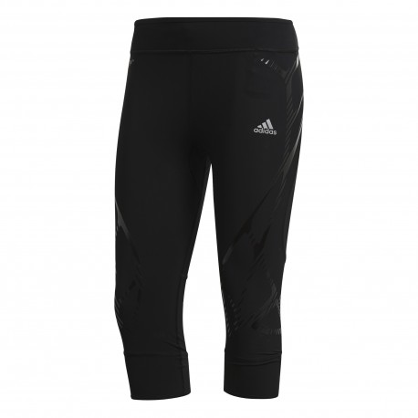 Adidas Tight Run 3/4 Adizero Sprintweb Donna Black