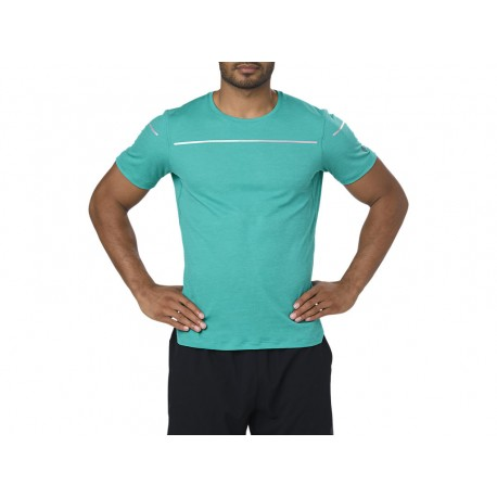 Asics T-shirt Mm Run Lite-Show Lake Blue