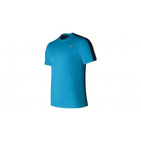 New Balance T-Shirt Mm Rn Accelerate Maldblue