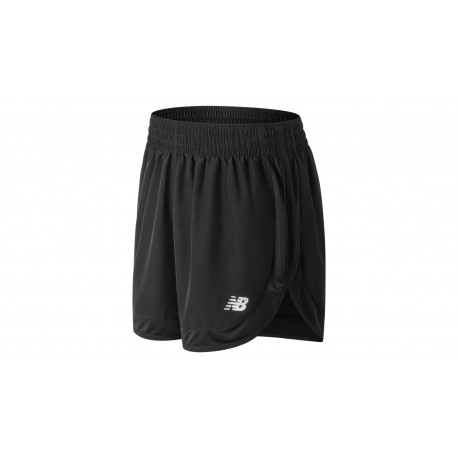 New Balance 5in Short Rn Accelerate Donna Black