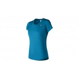 New Balance T-Shirt Mm Rn Accelerate Donna Maldblue