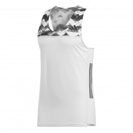 Adidas T-Shirt Mm Run Adizero Supernova Crywht/Black
