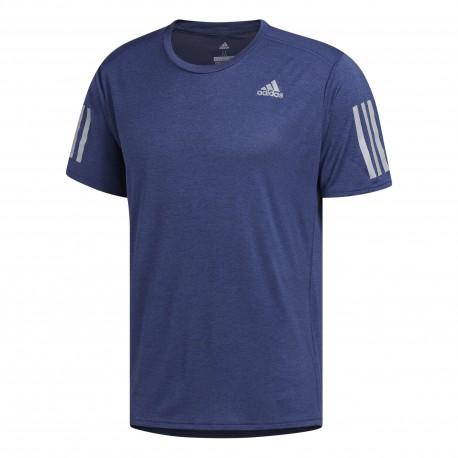 Adidas T-Shirt Mm Run Response Cooler Noble Indigo