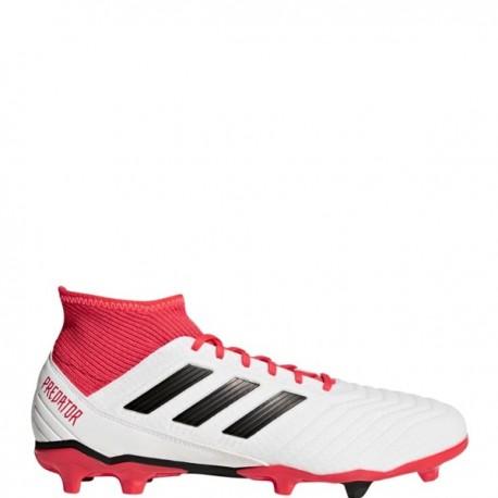 Adidas Bambino Predator 18.3 Fg White/Coral