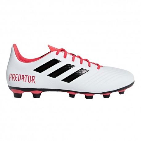 Adidas Predator 18.4 Fxg White/Coral