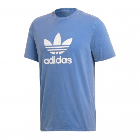 Adidas T-Shirt U Logo Trefoil Or Royal