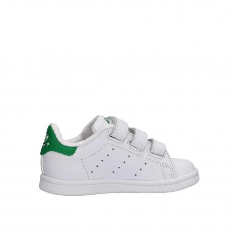 Adidas Stan Smith Bambino Cf Bianco/Verde