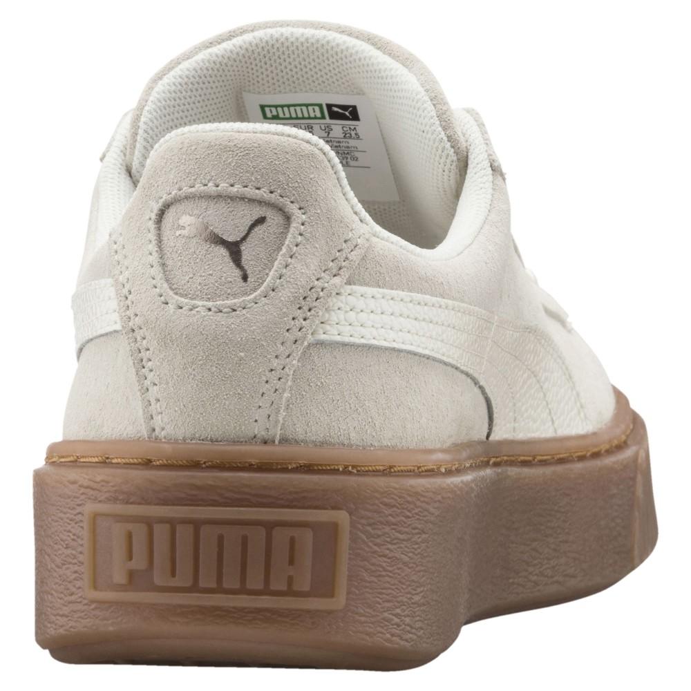 Puma Donna Suede Platform Bubble Sabbia 366439 02 Acquista