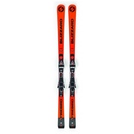 Blizzard Sci Firebird Wrc + Xcell 12 Demo Orange/Black