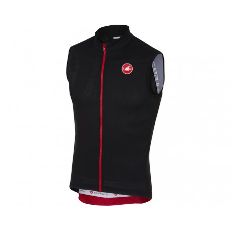 Castelli Sleeveless Entrata 3 Light Black