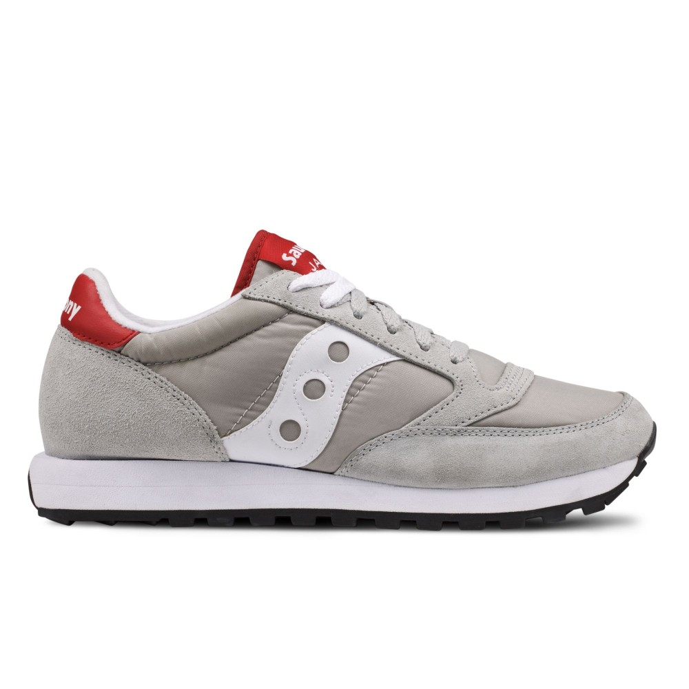 SAUCONY Jazz Original Grigio/Bordeaux 2044 323
