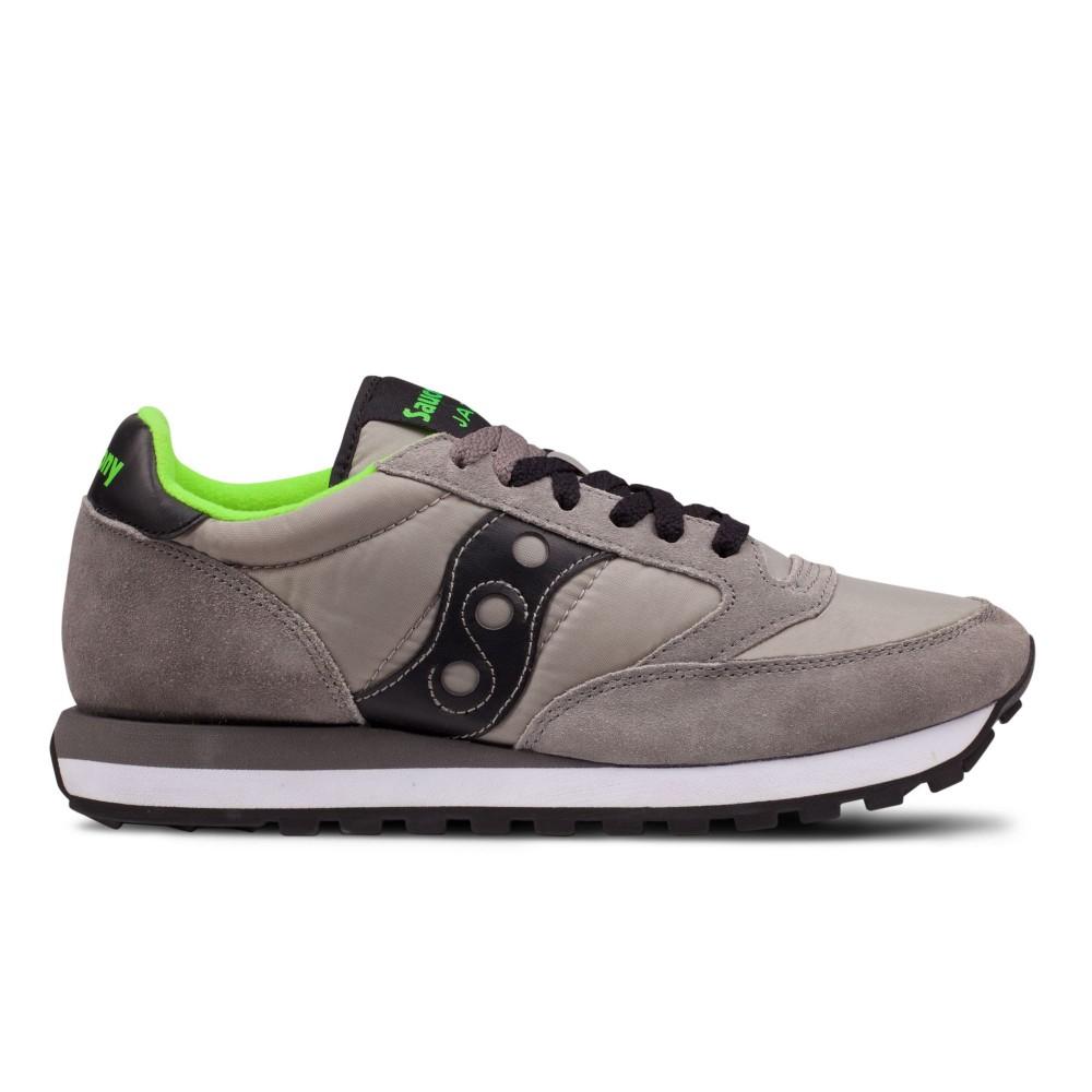 SAUCONY JAZZ ORIGINAL 2044288 sneakers uomo in tela e pelle grigionero
