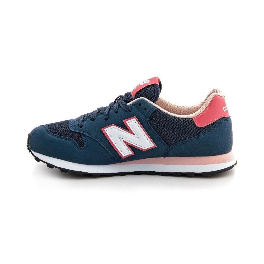 270409c5a1a5f New Balance Donna 500 Suede/Mesh Blu/Salmone NBGW500-NP - Acquista ...