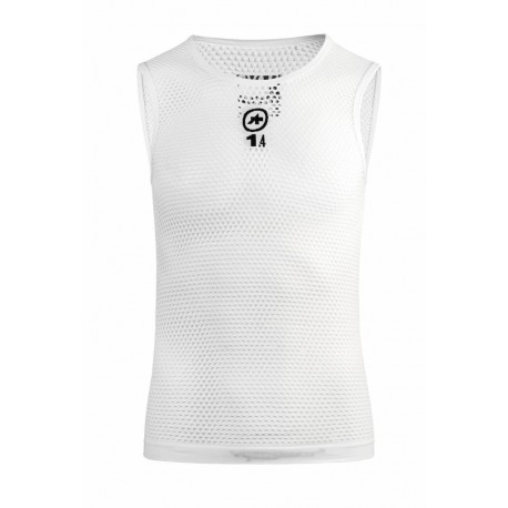 Assos Maglia  Ns Skinfoil Hot Summer Evo7 Holy White