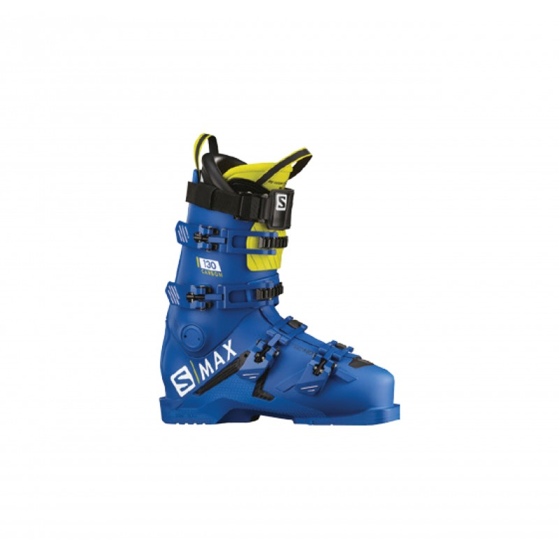 Salomon Scarpone S/Max 130  Carbon Race Blue/Acid