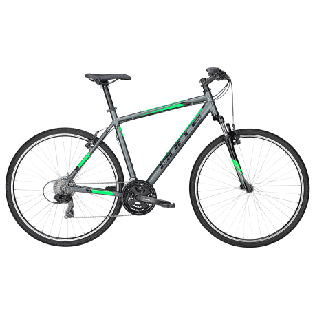Bulls Mtb Pulsar Cross Grey Matt/Green