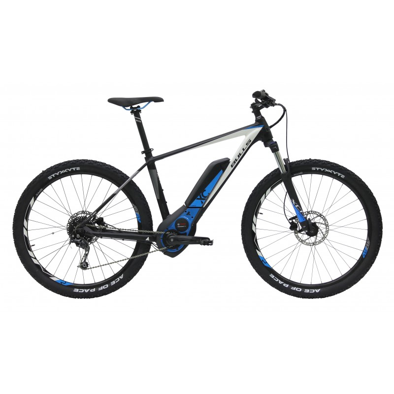 E-mtb 50 E1 27,5 (400 Wh) Black Matt/White