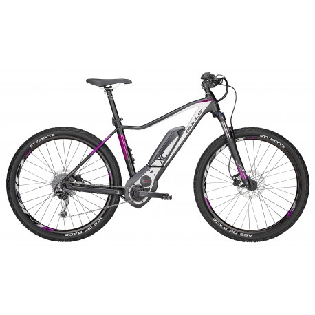 E-Mtb Donna Aminga E1 (400 Wh) 27,5 Black Matt/White