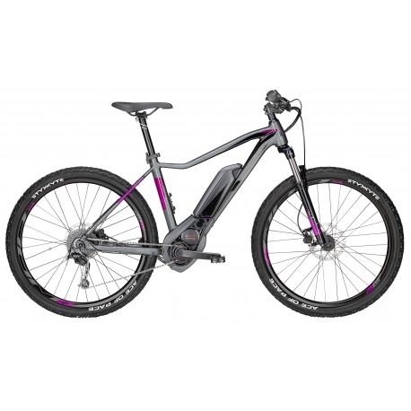 E-Mtb Donna Aminga E1 Cx (500Wh) 27,5 Grey Matt/Purple