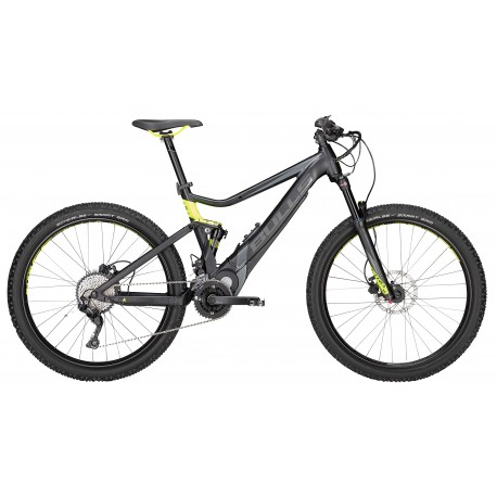 Bulls E-Mtb E-Stream Evo Tr2 27,5+ Black Matt/Grey/Neon Yellow