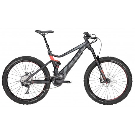 Bulls E-Mtb E-Stream Evo Am 3 27,5+ Black Matt/Gray/Neon Red