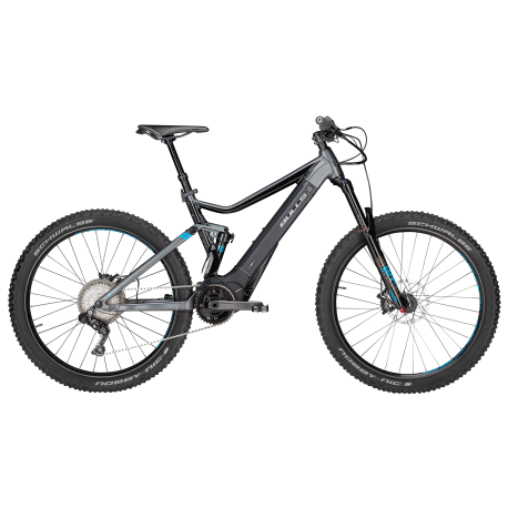 Bulls E-Mtb E-Core Evo Am Di2 27,5+ Gray Matt/Black