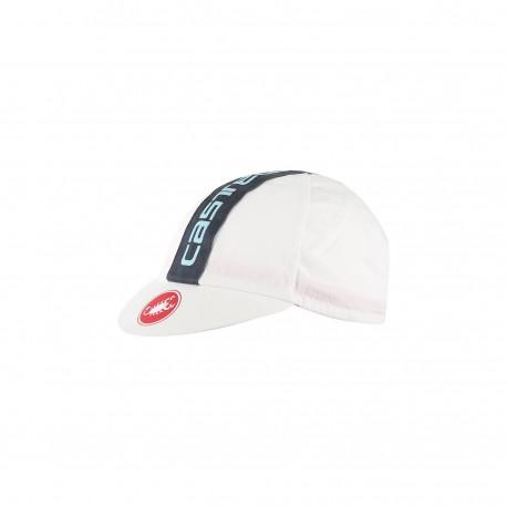 Castelli Cappellino Retro 3 Cap White
