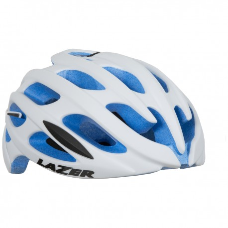 Lazer Casco Lazer Matt White/Blue