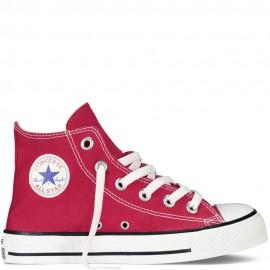 Converse Chuck Taylor All Star Canvas Hi Core Rosso Bambino
