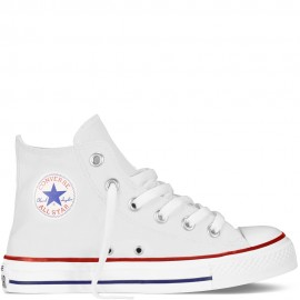 Converse Chuck Taylor All Star Canvas Hi Core Bianco Bambino