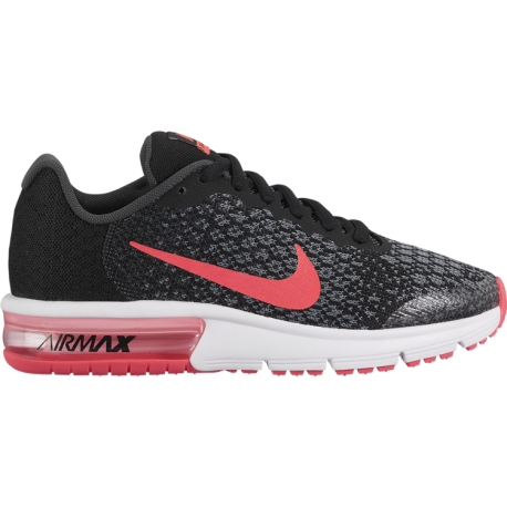 Nike Junior Air Max Sequent 2 Gs Nero/Pink