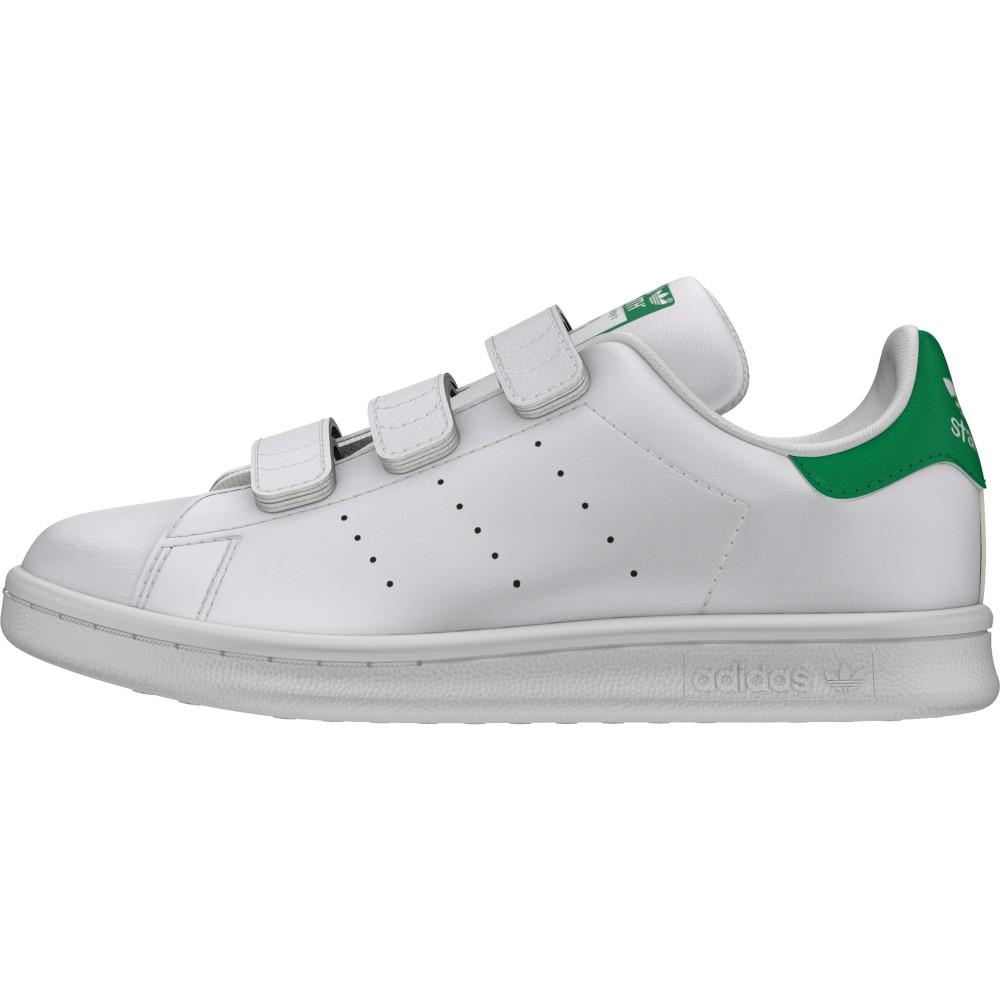 quality design 8660f e44f8 ... Adidas Junior Stan Smith Cf Int Ps Bianco Verde ...