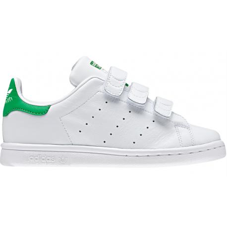 Adidas Junior Stan Smith Cf Int Ps Bianco/Verde