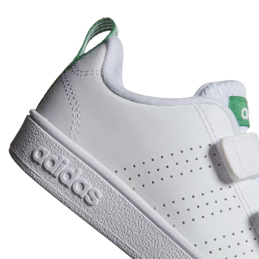 reputable site f0c9c 36c75 ... Adidas Junior Vs Adv Cl Cmf Inf Bianco Verde ...