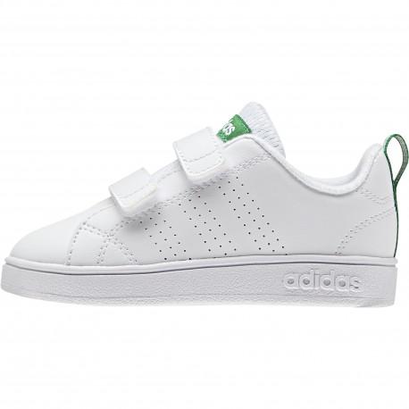 Adidas Junior Vs Adv Cl Cmf Inf Bianco/Verde